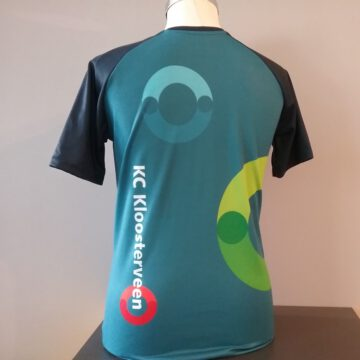 Afbeelding teamkleding KC Kloosterveen Assen achterzijde