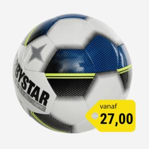 Afbeelding Derbystar Classic light voetbal wit/blauw