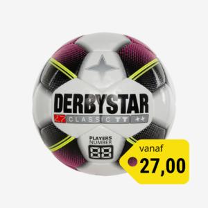 Afbeelding Derbystar Classic TT ladies voetbal wit/rood