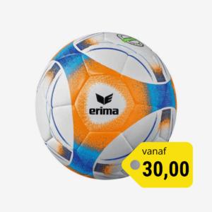 Afbeelding Erima hybrid lite 290 voetbal oranje/blauw