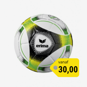 Afbeelding Erima hybrid lite 350 voetbal groen/zwart/geel